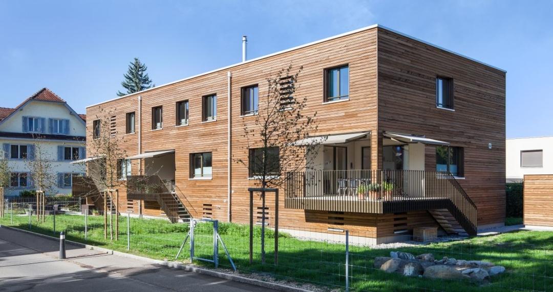Ein Wohlfühlzuhause Aus Holz.