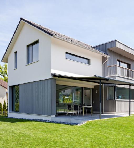 Wärme Und Natürlichkeit: Fassadenbau